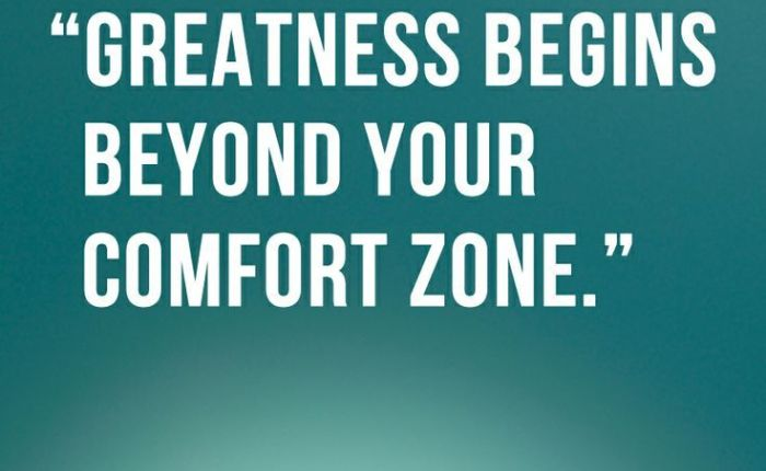 Are you Comfortable Being Uncomfortable?