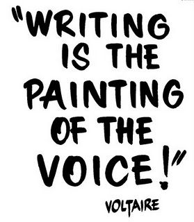 writingisthepaintingofthevoice